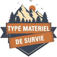Type materiel de survie pour activités de loisirs nature bushcraft urbain, destockage equipement de survie complet fin du monde indispensable